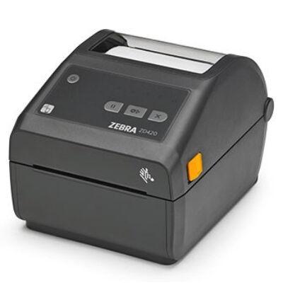 Zebra ZD420 - Direct thermal - 203 x 203 DPI - 152 mm/sec - 10.4 cm - EPL,ZPL - Grey