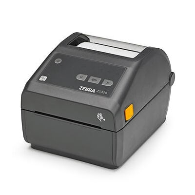 Zebra ZD420 - Direct thermal - 203 x 203 DPI - 152 mm/sec - 10.4 cm - Black - Plastic ZD42042-D0EW02EZ