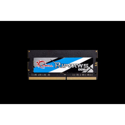 G.Skill Ripjaws F4-3800C18Q-32GRS - 32 GB - 4 x 8 GB - DDR4 - 3800 MHz - 260-pin SO-DIMM - Black F4-3800C18Q-32GRS