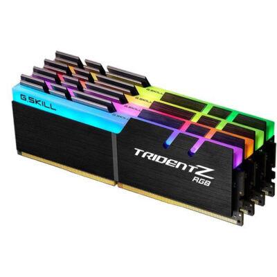G.Skill Trident Z RGB F4-3000C16Q-64GTZR - 64 GB - 4 x 16 GB - DDR4 - 3000 MHz - 288-pin DIMM F4-3000C16Q-64GTZR