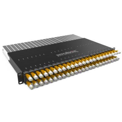 PATCHBOX Plus 365 STP - Cat6 - 10 Gigabit Ethernet - 10000 Mbit/s - RJ-45 - Gold - U/FTP (STP) P36STPXC6XX24Y