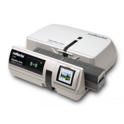 Reflecta DigitDia 7000 - 36,5 x 36,5 mm - 10000 x 10000 DPI - 48 bit - Film / dia szkenner - Fekete, Fehér - CCD 65700
