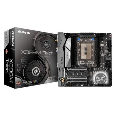 ASRock X399M Taichi - AMD - Socket TR4 - AMD Ryzen - DDR4-SDRAM - DIMM - 2133,2400,2667,2933,3200,3600 MHz 90-MXB7B0-A0UAYZ