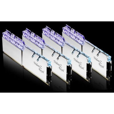 G.Skill Trident Z Royal F4-3200C14Q-64GTRS - 64 GB - 4 x 16 GB - DDR4 - 3200 MHz - 288 tűs DIMM F4-3200C14Q-64GTRS