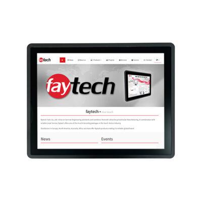 faytech FT15V40M400W1G8GCAP 38,1 cm 15 Zoll beágyazott érintőképernyős kapazitiv - Cortex A7 - OpenGL