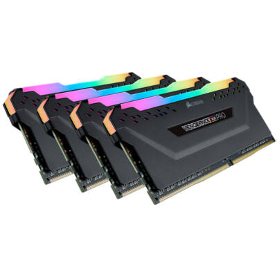 Corsair Vengeance CMW32GX4M4K4000C19 - 32 GB - 4 x 8 GB - DDR4 - 4000 MHz - 288-pin DIMM CMW32GX4M4K4000C19