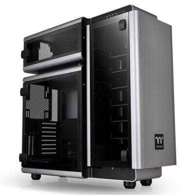 Thermaltake Level 20 - Ultra Tower - PC - Alumínium, edzett üveg - Alumínium, fekete, szürke - ATX, EATX, Micro ATX, Mini-ITX - Gaming CA-1J9-00F9WN-00