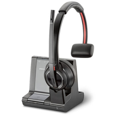 Poly Savi W8210-M - MSFT - Office/Call center - Headset - Head-band - Black - Monaural - Rotary 207322-02