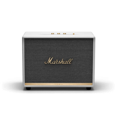 Marshall Woburn II Bluetooth - 2.0 channels - Wired & Wireless - RCA/3.5mm - 130 W - 30 - 20000 Hz - White 1001905