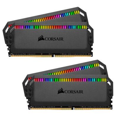 Corsair Dominator CMT32GX4M4K4000C19 - 32 GB - 4 x 8 GB - DDR4 - 4000 MHz - 288 tűs DIMM CMT32GX4M4K4000C19
