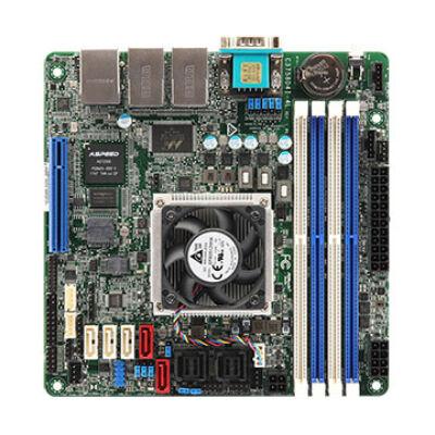 ASRock Rack C3758D4I-4L SoC So.BGA kétcsatornás DDR4 Mini-ITX kiskereskedelem - Alaplap - Mini-ITX