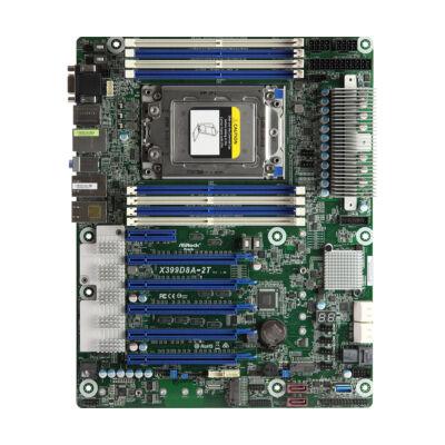 ASRock X399D8A-2T - ATX - DDR4-SDRAM - Serial ATA III - Aspeed AST2500 - UEFI AMI X399D8A-2T