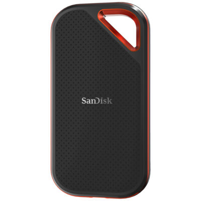 SanDisk EXTREME PRO - 1000 GB - 3.2 Gen 2 (3.1 Gen 2) - 1050 MB/s - Black,Orange SDSSDE80-1T00-G25