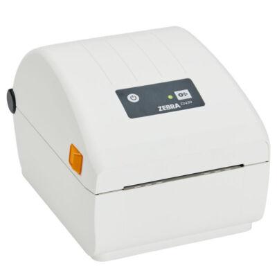Zebra ZD230 - Direct thermal - 203 x 203 DPI - 152 mm/sec - 10.4 cm - EZPL,XML,ZPL II - White ZD23W42-D0EC00EZ