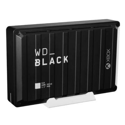 WD D10 - 12000 GB - 3.2 Gen 2 (3.1 Gen 2) - 7200 RPM - Black WDBA5E0120HBK-EESN
