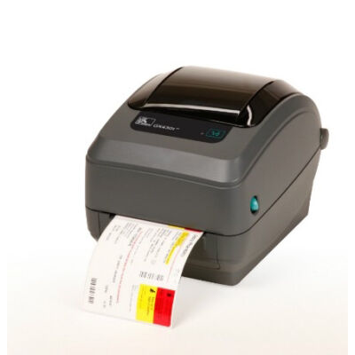 Zebra GX430t - Thermal transfer - 300 x 300 DPI - 102 mm/sec - EPL2,ZPL,ZPL II - Black,Grey - 8 MB