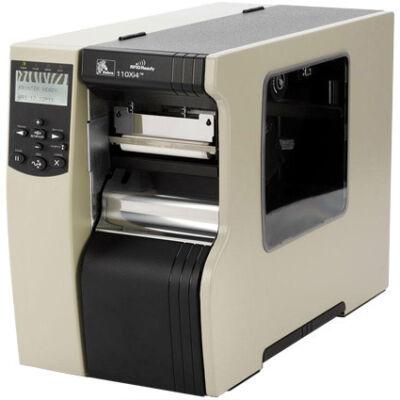 Zebra 110Xi4 - Thermal transfer - 203 x 203 DPI - 356 mm/sec - 10.2 cm - Black - XML,ZPL,ZPL II 112-8KE-00003