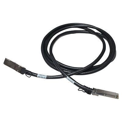 HP Enterprise InfiniBand X241 közvetlen csatlakoztatású rézkábel - kábel - KVM 3 m - rézhuzal - fekete JG327A