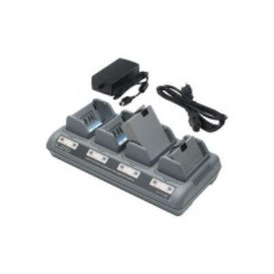 Zebra AC18177-1 - Label printer battery - Lithium-Ion (Li-Ion) - Zebra - P4T QL 220 QL 220 Plus QL 320 QL 320 802.11 FH Radio QL 320 Plus QL 420 QL 420 802.11 FH Radio QL... Grey - Indoor battery charger AC18177-1