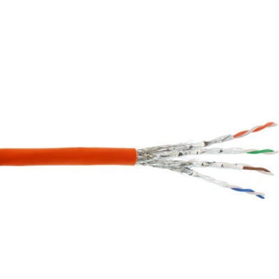 InLine 70500I - 500 m - Cat7a - S / FTP (S-STP) - Narancssárga 70500I