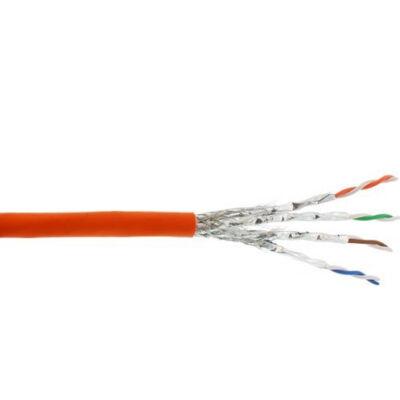 InLine 77500I - 500 m - Cat7a - S / FTP (S-STP) - Narancssárga 77500I