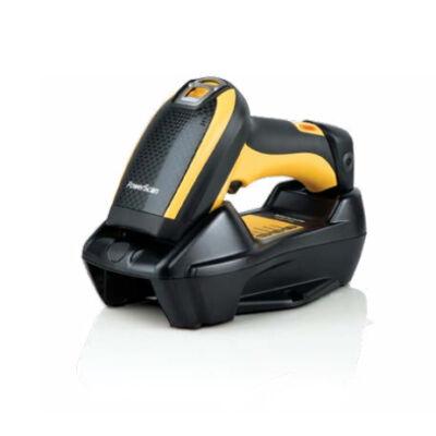 Datalogic PowerScan PBT9500 - Handheld bar code reader - Laser - Aztec Code,Data Matrix,MaxiCode,Micro QR Code,QR Code - 0 - 360° - -40 - 40° - -40 - 40° PBT9500-HPRB