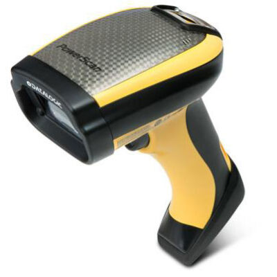 Datalogic PowerScan PM9500-DPM - Handheld bar code reader - Laser - Aztec Code,Data Matrix,MaxiCode,Micro QR Code,QR Code - 0 - 360° - -40 - 40° - -40 - 40° PM9500-DPM433RB