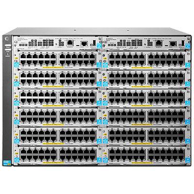 J9822A HP 5412R zl2 kapcsoló Hewlett Packard Enterprise 5412R zl2, felügyelt, szürke, P2020