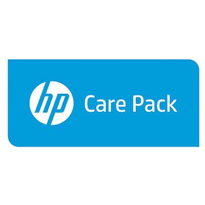 HP Enterprise 1y PW Nbd D2D4100 Cap. Upg FC SVC - 1 year(s) - Next Business Day (NBD) U2LU2PE