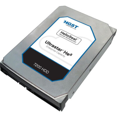 HGST Hitachi Ultrastar He8 SAS 8TB - Hdd - Serial Attached SCSI (SAS)