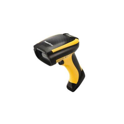 Datalogic PowerScan PM9500 - Handheld bar code reader - 1D/2D - Photo diode - Aztec Code,Data Matrix,MaxiCode,Micro QR Code,QR Code - 0 - 100000 lx - 680 nm PM9500-DPM433RBK10