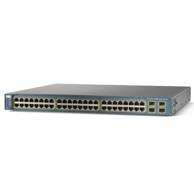 WS-C3560-48TS-S Cisco Catalyst 3560-48TS - Switch