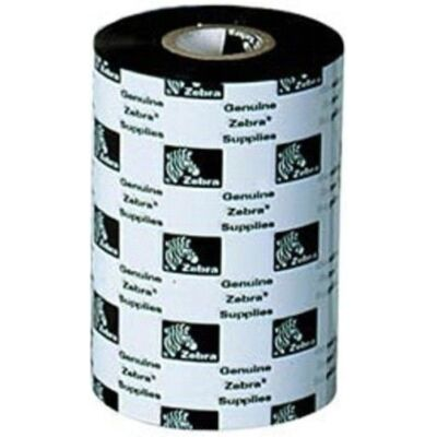 Zebra 4800 gyanta hőszalag 220mm x 450m - hőátadás - fekete - 450 m - 220mm x 450m 04800BK22045