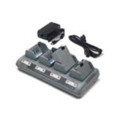 Zebra Li-Ion Quad Charger - Black - P4T QL 220 QL 220 Plus QL 320 QL 320 802.11 FH Radio QL 320 Plus QL 420 QL 420 802.11 FH Radio QL... AC18177-2