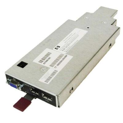 HP Enterprise BLc3000 KVM opció - USB - USB - VGA - fekete, fémes - 1U - 590 g 437575-B21