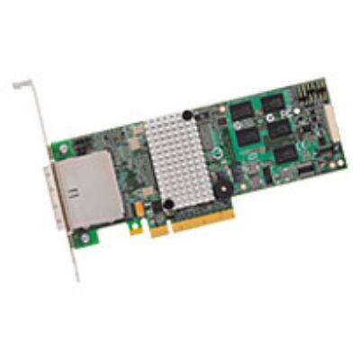 BROADCOM 3ware SAS 9750-8e SGL - 8-Port Ext. - 6Gb/s SAS/SATA - PCIe 2.0 - Raid controller - Serial Attached SCSI (SAS)