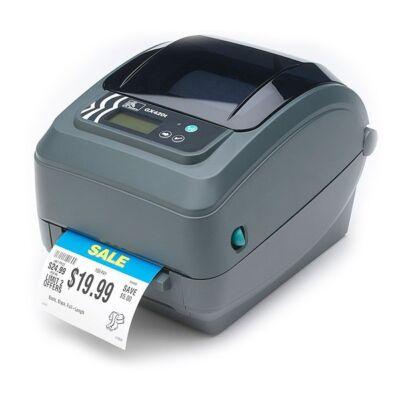 Zebra GX420t - Direct thermal / thermal transfer - 203 x 203 DPI - 152 mm/sec - Grey - 8 MB - 4 MB GX42-102520-000