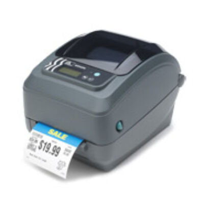 Zebra GX420t - Direct thermal / thermal transfer - 203 x 203 DPI - 152 mm/sec - Grey - 8 MB - 4 MB GX42-102422-000
