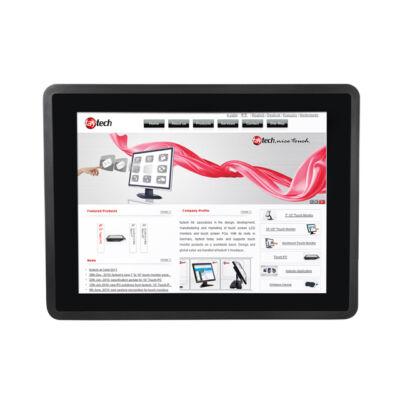 faytech FT12J1900W4G64GCAP 30.7 cm 12.1 Zoll kapazitiver Touch-PC schwarz