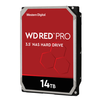 WD Harddisk Red Pro 3.5 SATA 14 TB - HDD - soros ATA WD141KFGX