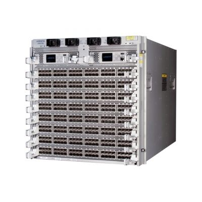 DCS-7280QRA-C36S-F Arista 7280RA, 36x40GbE QSFP+ / 18 x 40GbE & 12x100GbE switch router, AlgoMatch, front to rear air, 2x AC and 2xC13-C14 cords
